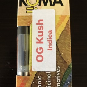 OG Kush Oil Cartridges Indica Hybrid Weed